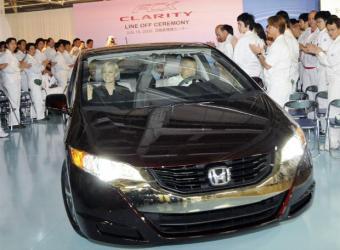 Honda saca al mercado el primer coche de hidrógeno