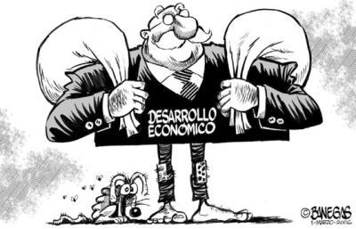 Mirada crítica al modelo económico actual en la que sólo unos pocos se benefician